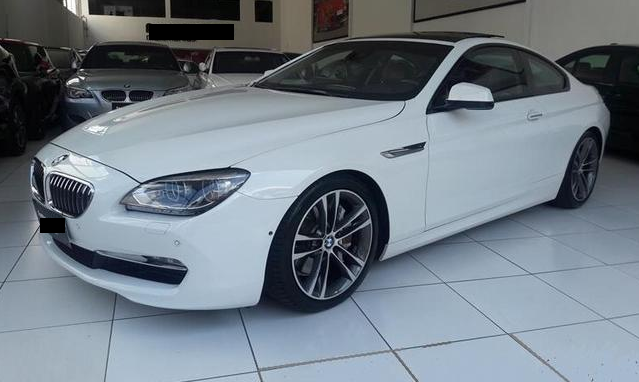 Armored Cars for Rent: BMW 650 Coupe 2 Door – Brazil (Diplomat Armored Rentals)