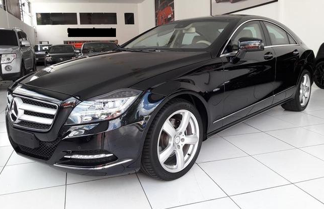 Armored Cars for Rent: Mercedes CLS350 – Brazil (Diplomat Armored Rentals)