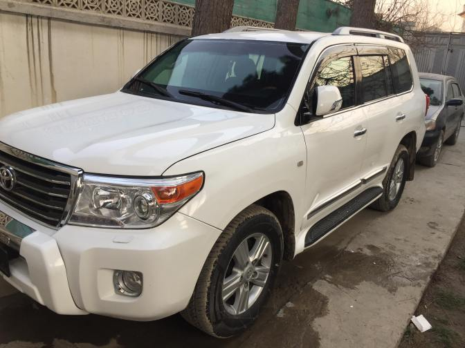 Armored Cars for Rent: Armored Toyota Land Cruiser – Afghanistan (Diplomat Armored Rentals)